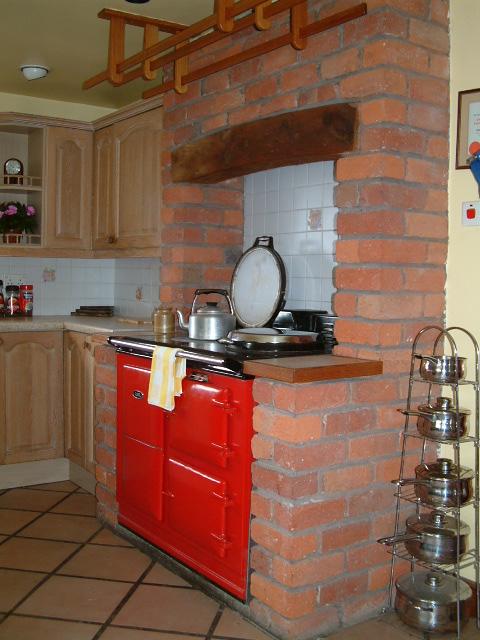 Isles Field Barn kitchen